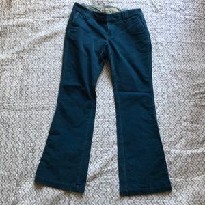 Gap Long and Lean corduroys - Size 8
